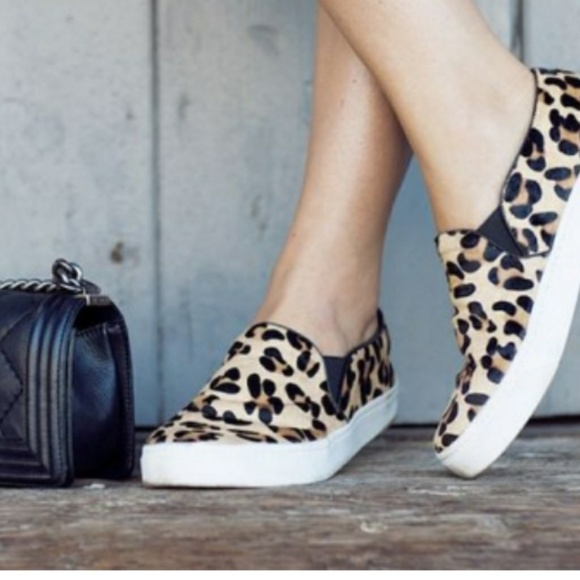 Twisted Shoes | Leopard Slip On